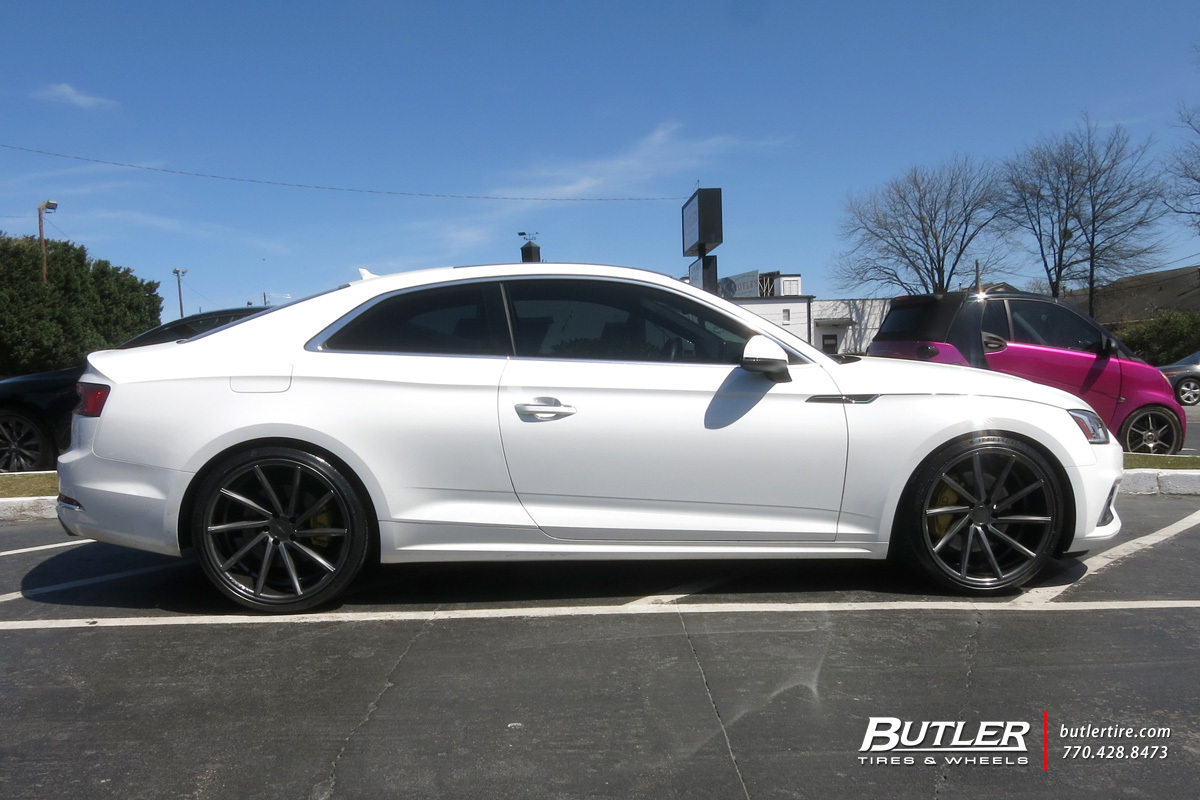 Audi A5 with 20in Vossen CVT Wheels
