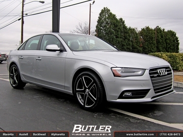 Audi A6 with 18in TSW Rivage Wheels