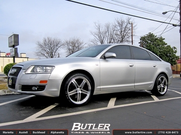 Audi A6 with 19in Mandrus Mannheim Wheels