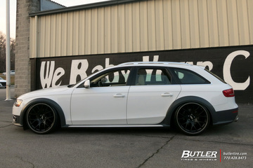 Audi A6 with 20in BBS CH-R Wheels