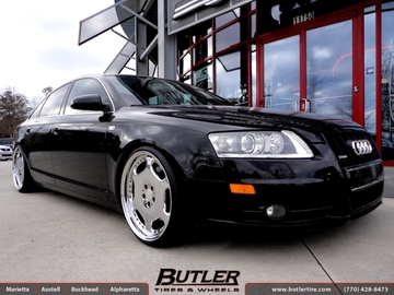 Audi A6 with 20in Carlsson 2 1 Wheels