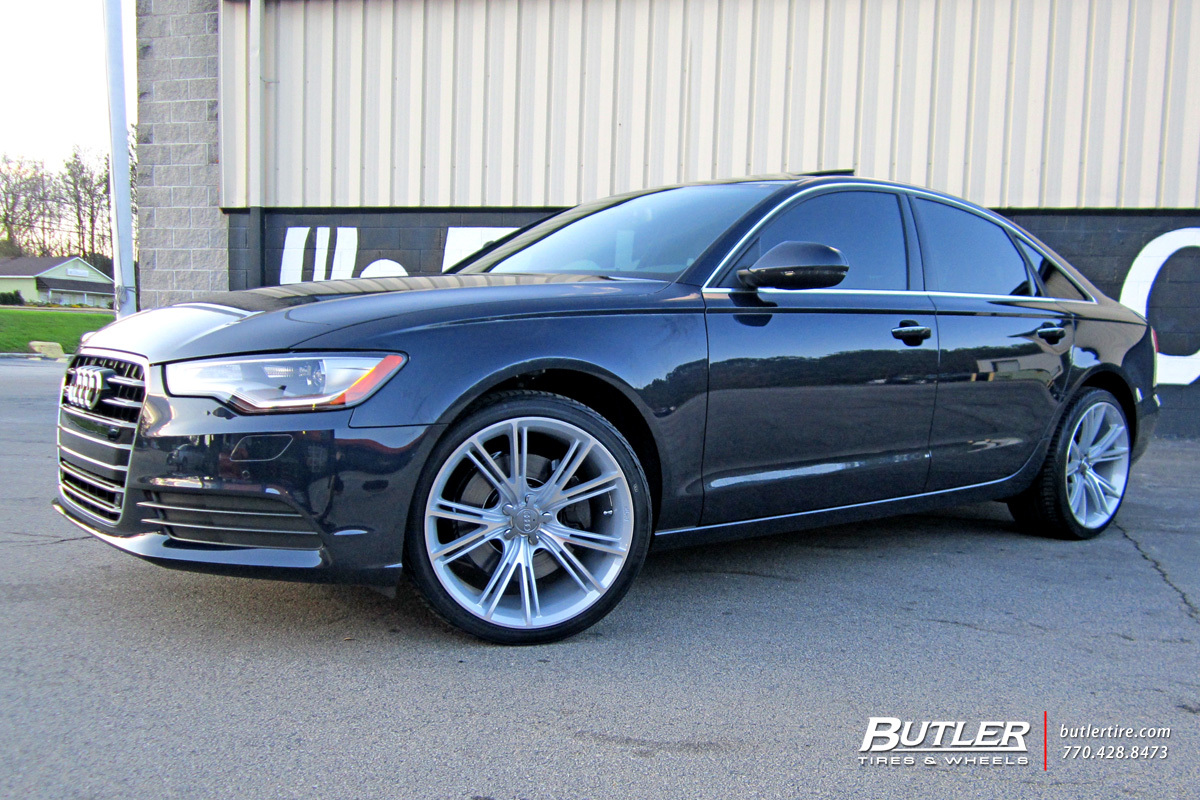 Audi A6 with 20in Niche Ritz Wheels