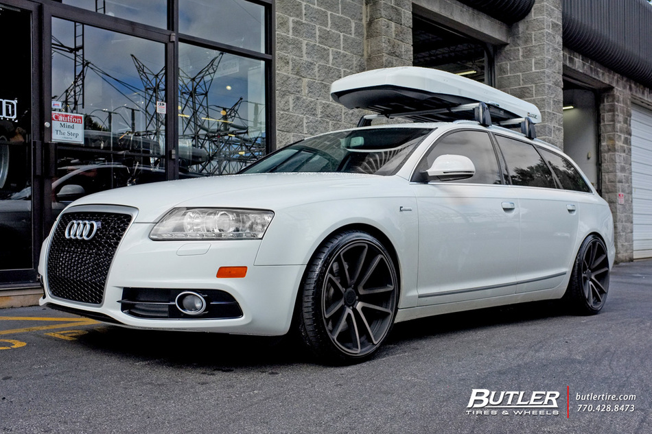 Audi A6 with 20in Rotiform SPF Wheels exclusively from Butler Tires and Wheels in Atlanta, GA ...