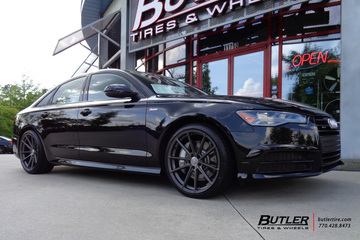 Audi A6 with 20in TSW Bathurst Wheels