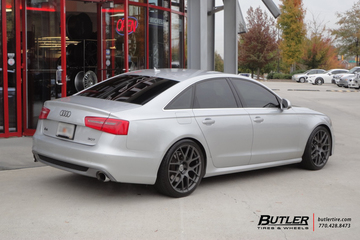 Audi A6 with 20in TSW Nurburgring Wheels