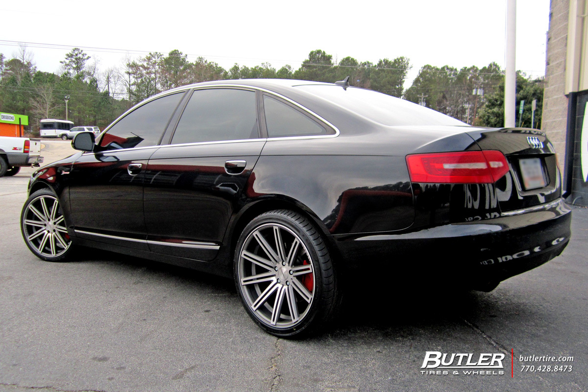 Audi A6 With 20in Vossen Cv4 Wheels Exclusively From