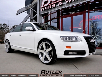 Audi A6 with 22in TSW Panorama Wheels