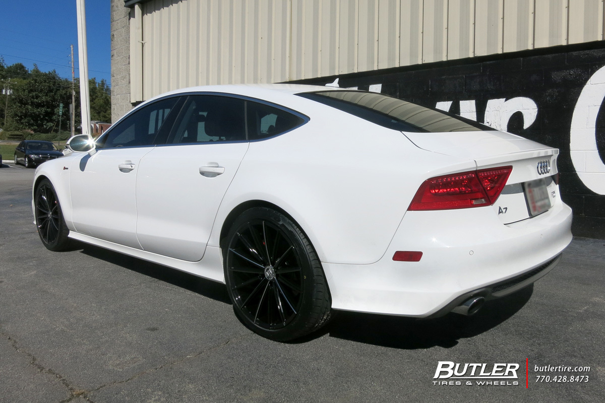 Audi A7 with 20in Lexani Pegasus Wheels