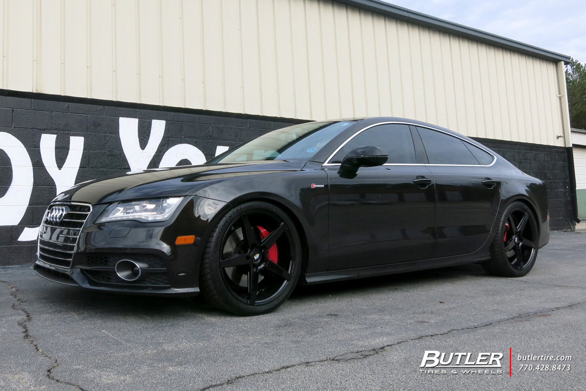 Audi A7 with 20in Savini BM11 Wheels