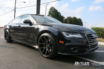 Audi A7 with 20in Savini BM14 Wheels