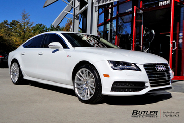 Audi A7 with 20in Savini BM9 Wheels
