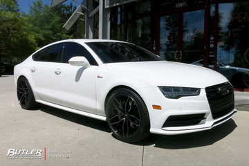 Audi A7 with 20in Savini SV-F2 Wheels