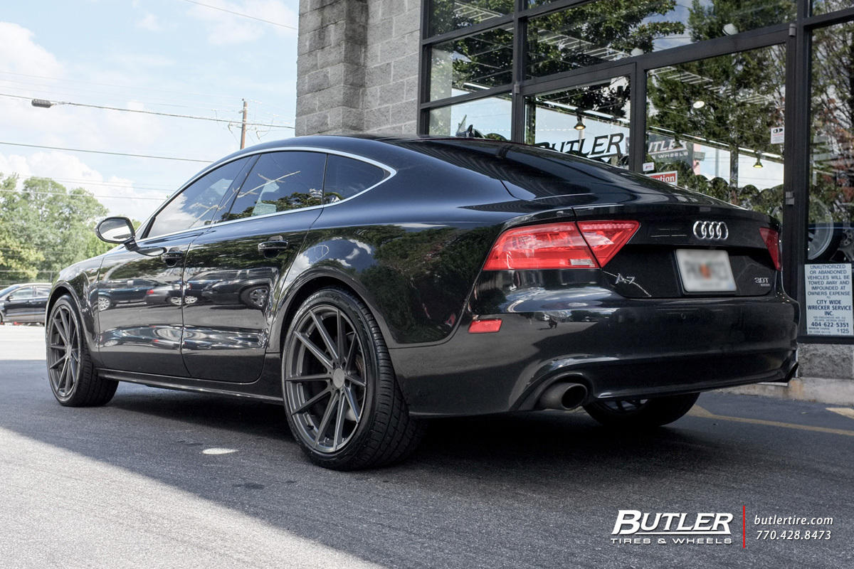 Audi A7 with 20in TSW Bathurst Wheels
