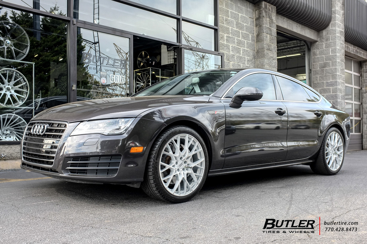 Audi A7 With 20in Tsw Sebring Wheels Exclusively From