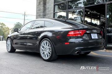Audi A7 with 20in TSW Sebring Wheels