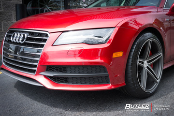 Audi A7 with 20in Vossen CV7 Wheels