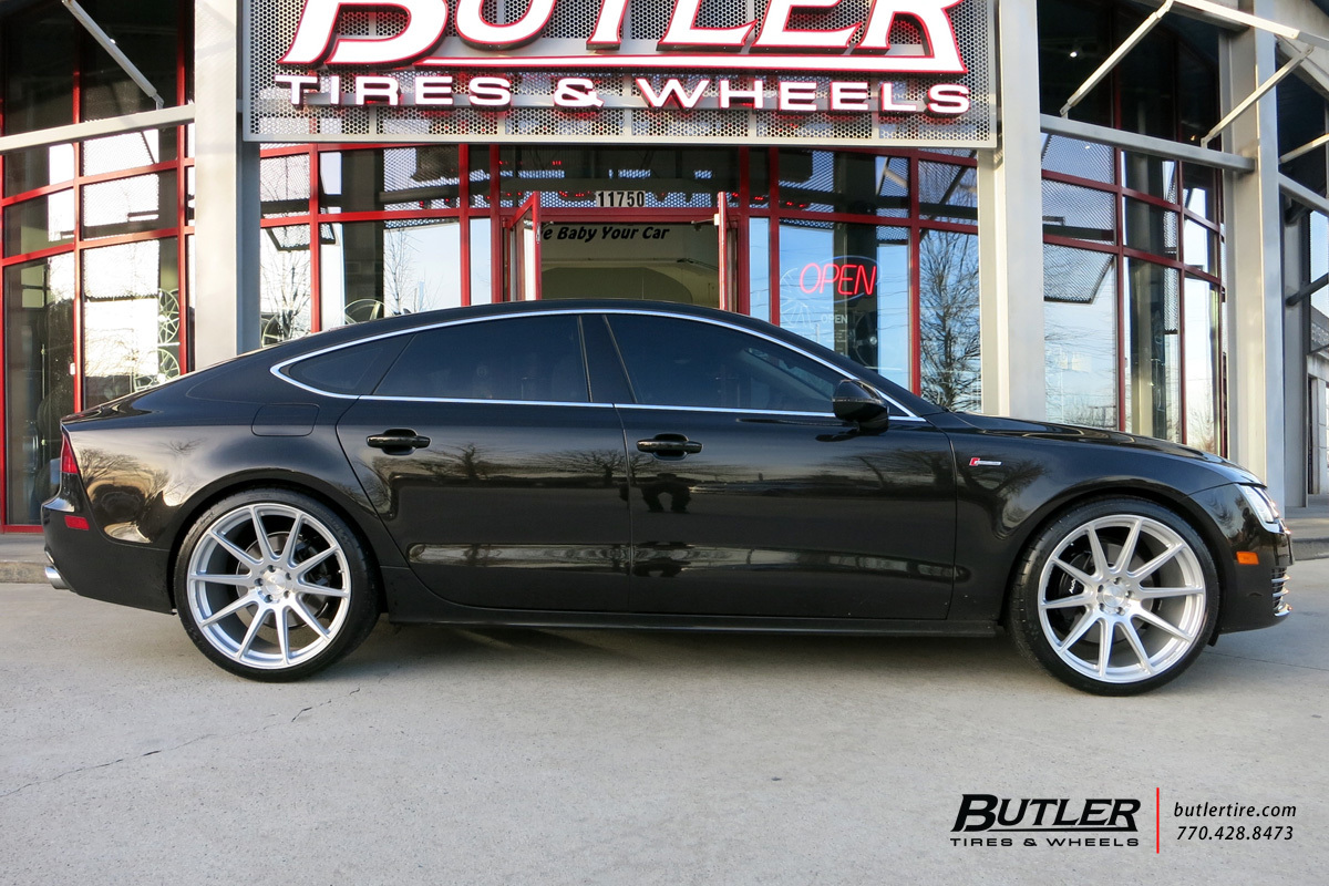 audi a7 with 21in niche essen wheels exclusively from butler tires and wheels in atlanta ga. Black Bedroom Furniture Sets. Home Design Ideas