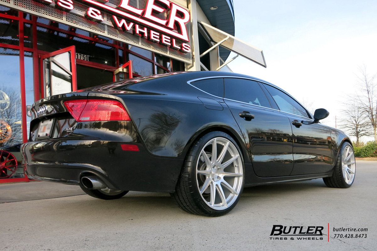 Audi A7 with 21in Niche Essen Wheels