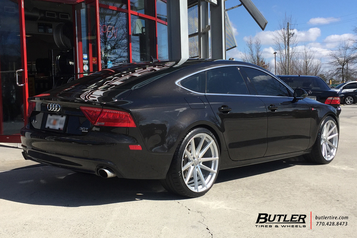 Audi A7 with 21in TSW Bathurst Wheels