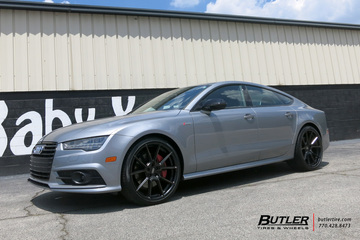 Audi A7 with 21in TSW Chrono Wheels