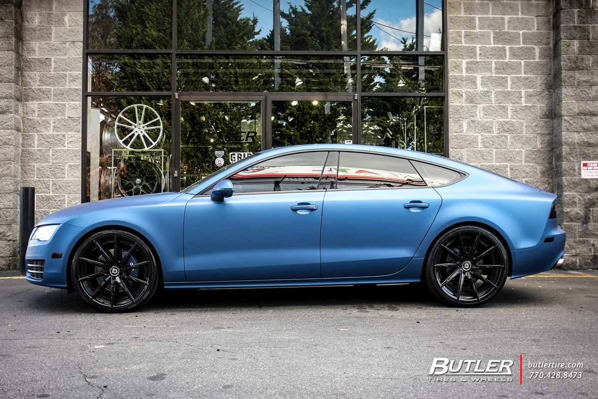 Audi A7 with 22in Lexani CSS15 Wheels