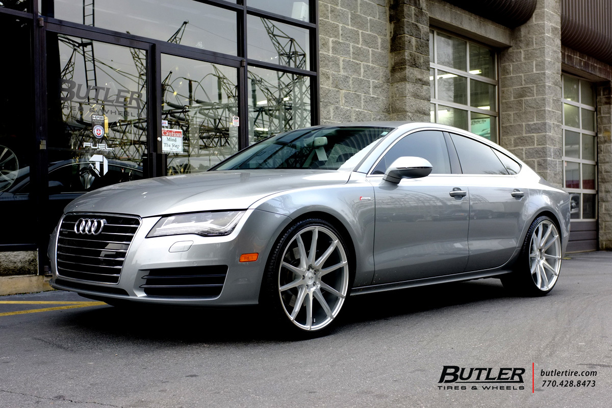 Audi A7 with 22in Savini BM12 Wheels exclusively from Butler Tires and Wheels in Atlanta, GA ...