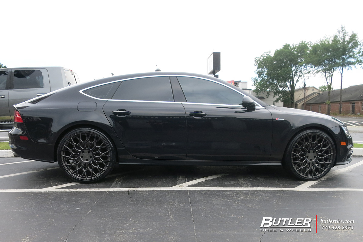 Audi A7 with 22in TSW Oslo Wheels