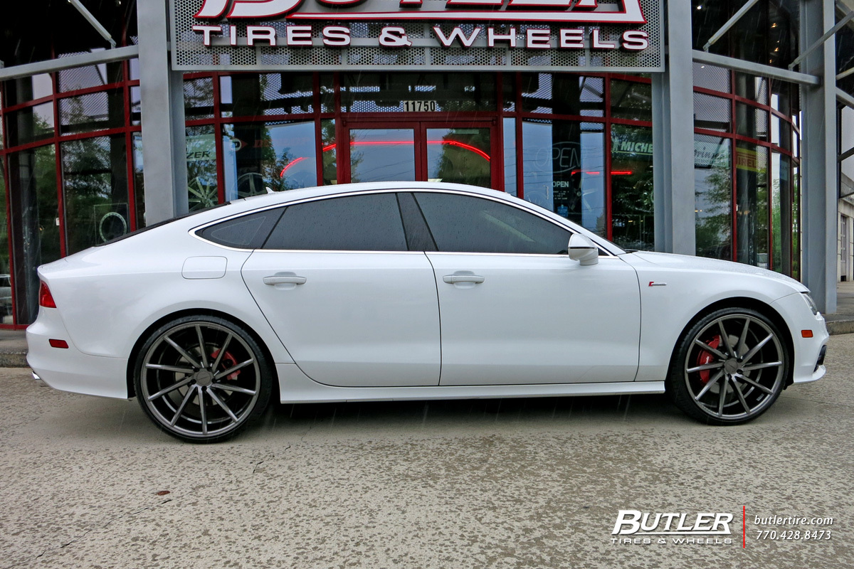 Audi A7 With 22in Vossen Cvt Wheels Exclusively From