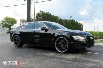 Audi A7 with 22in XO Florence Wheels