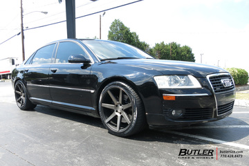 Audi A8 with 20in Niche Verona Wheels