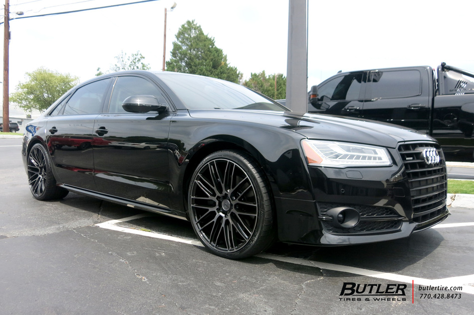 Audi Of Atlanta >> Audi A8 with 22in Savini BM13 Wheels exclusively from ...