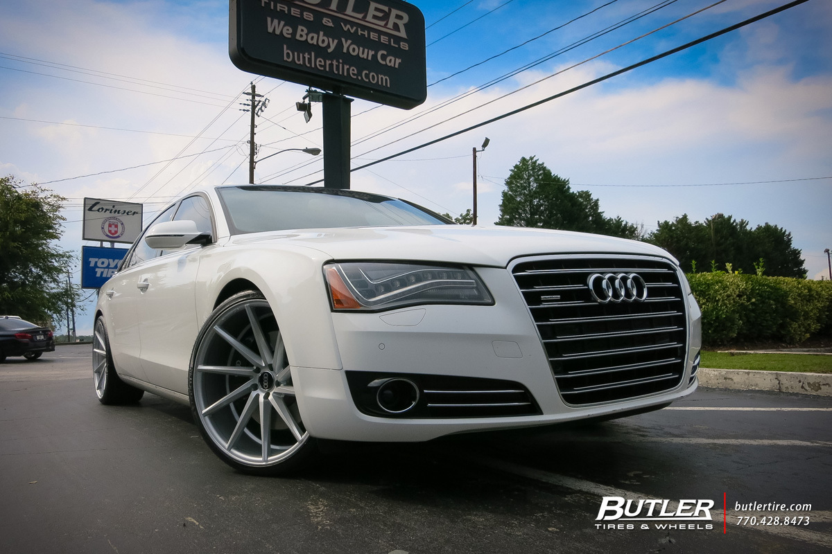 Audi A With In Vossen CVT Wheels Exclusively From Butler Tires - Audi car tires