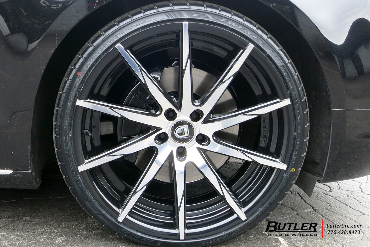 Audi A8L with 22in Lexani CSS15 Wheels