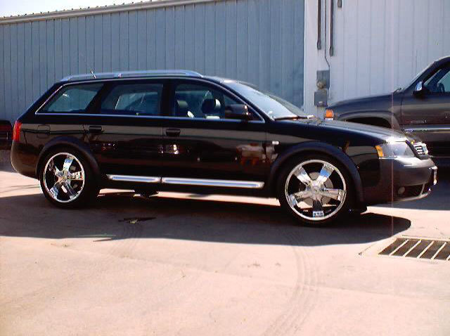 Audi Allroad with 20in TSW S5 Wheels