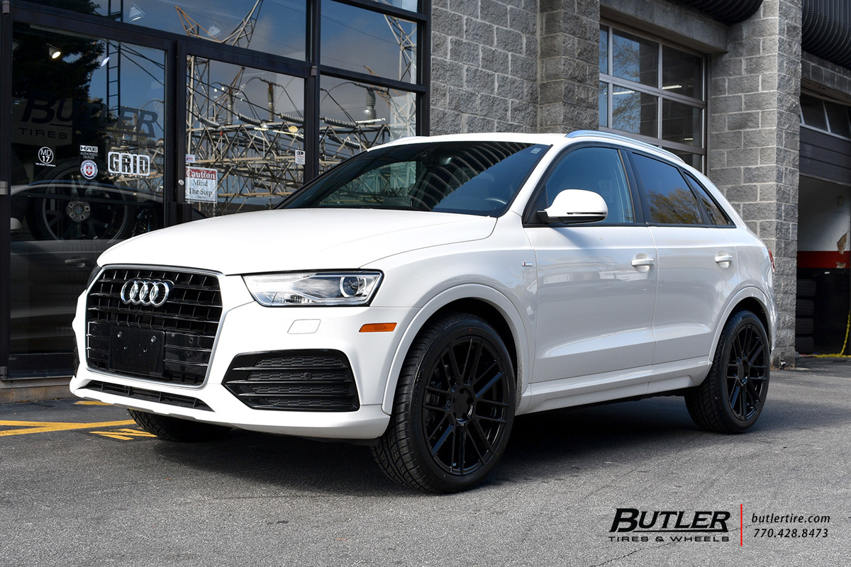 Audi Q3 with 20in TSW Mosport Wheels