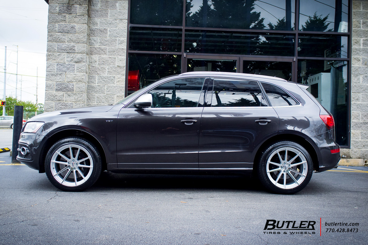 Audi Q5 with 20in TSW Bathurst Wheels