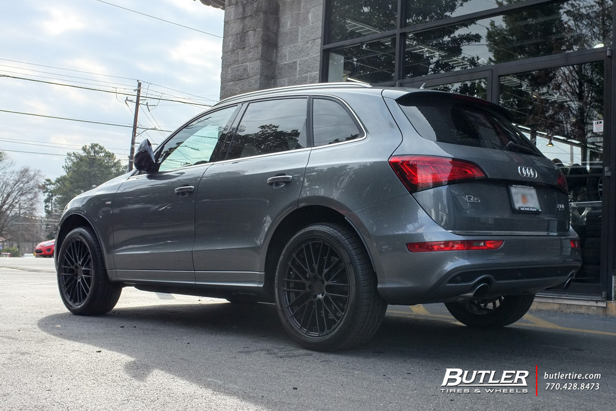 Audi Q5 with 20in TSW Max Wheels