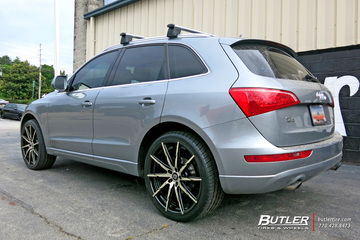 Audi Q5 with 22in Lexani CSS15 Wheels