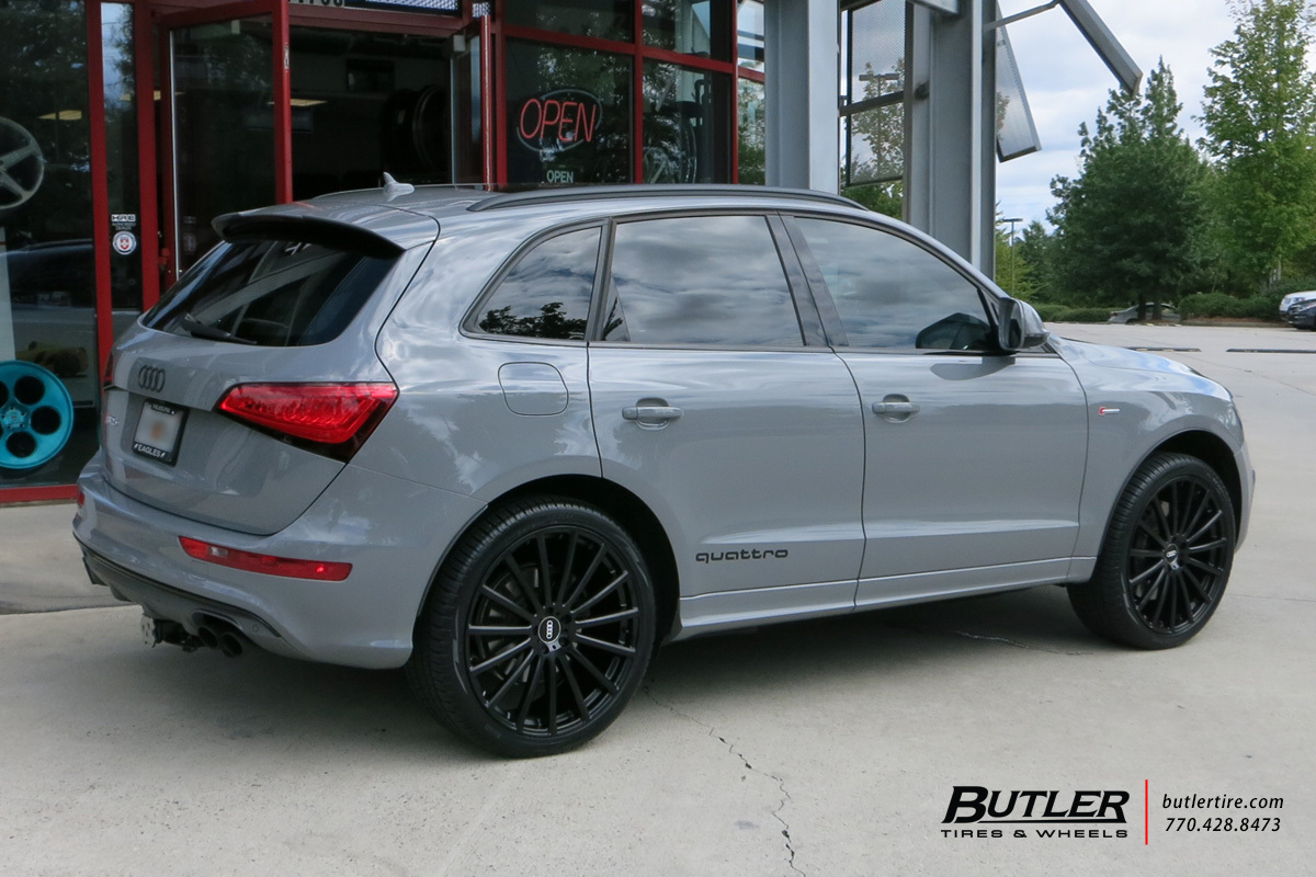Audi Q5 with 22in Mandrus Rotec Wheels