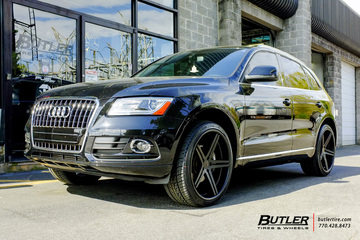Audi Q5 with 22in TSW Mirabeau Wheels
