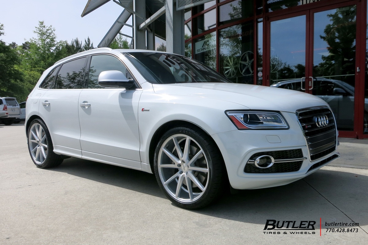 Audi Q5 with 22in Vossen VFS1 Wheels exclusively from Butler Tires and Wheels in Atlanta, GA ...
