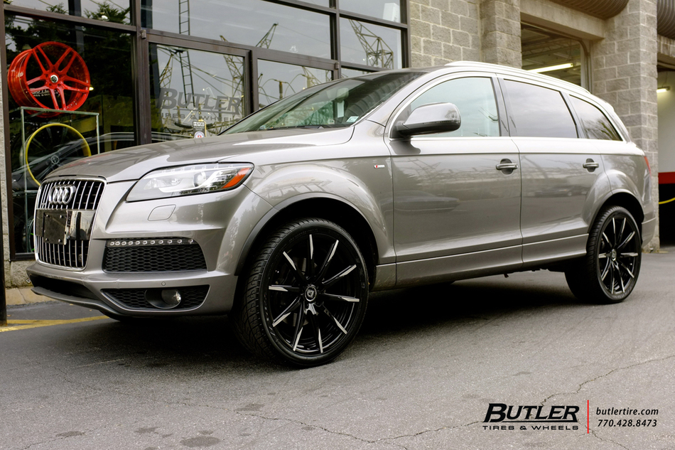 Off Road Rims And Tires Package >> Audi Q7 with 22in Lexani CSS15 Wheels exclusively from ...