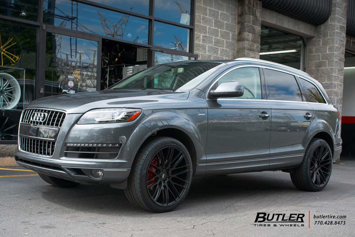 Audi Q7 With 22in Savini Bm13 Wheels Exclusively From