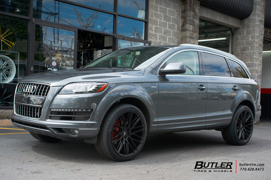 Audi Q7 with 22in Savini BM13 Wheels exclusively from ...