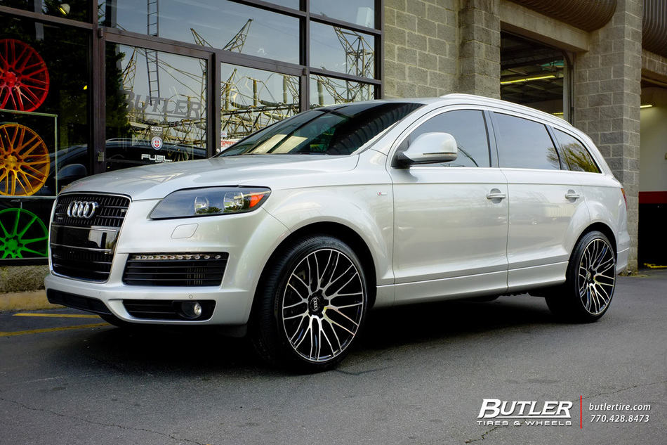 Audi Q7 With 22in Savini Bm13 Wheels Exclusively From Butler Tires And Wheels In Atlanta Ga