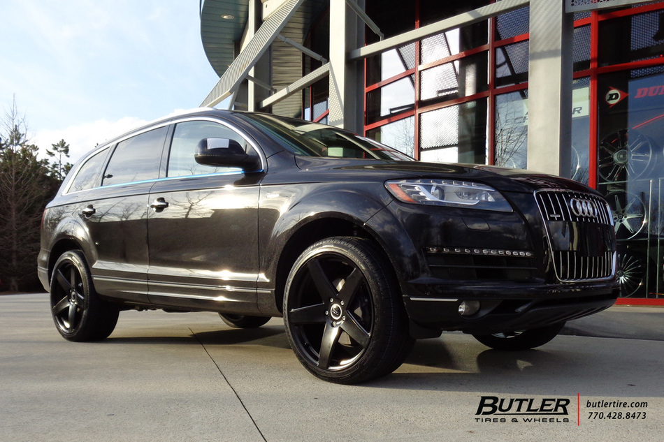 Audi Q7 with 22in Victor Baden Wheels exclusively from ...