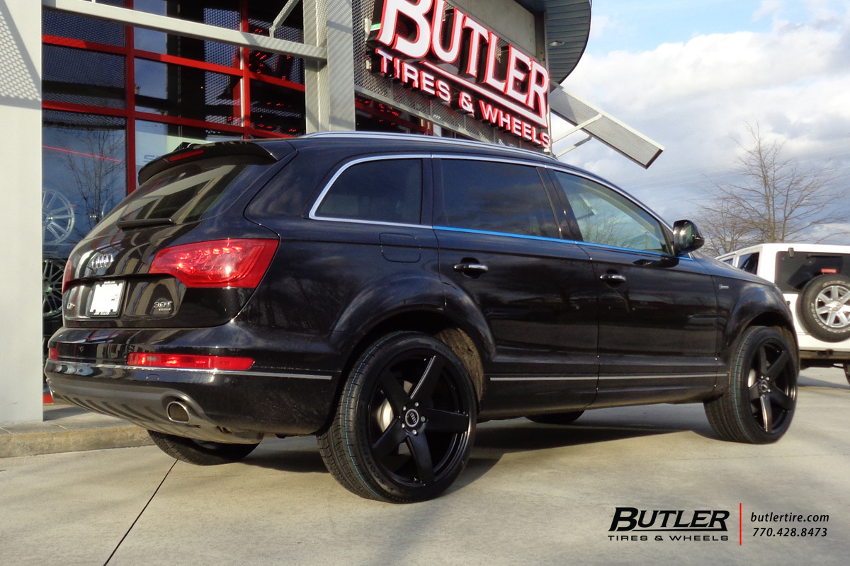 Audi Q7 with 22in Victor Baden Wheels