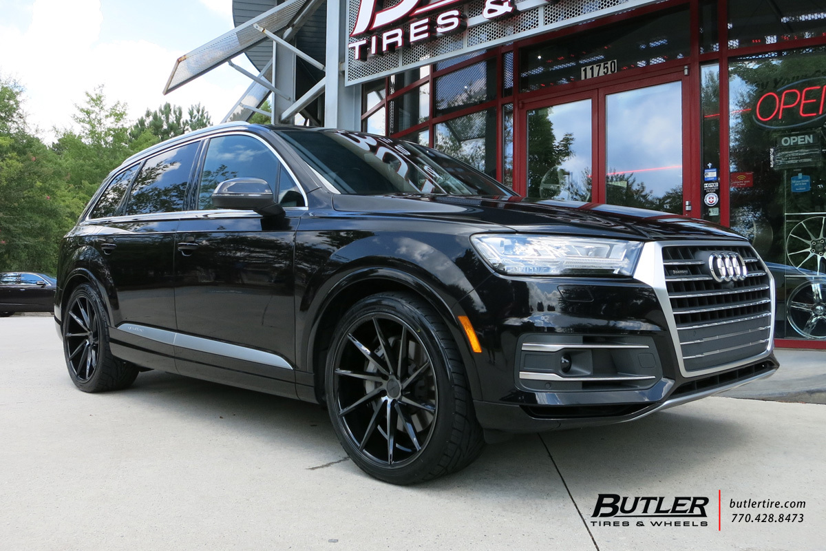 Audi Q7 With 22in Vossen Cvt Wheels Exclusively From