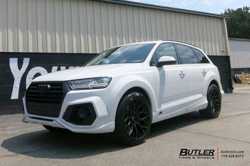 Audi Q7 with 22in Vossen HF-2 Wheels
