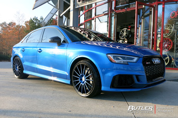 Audi RS3 with 19in HRE FF15 Wheels